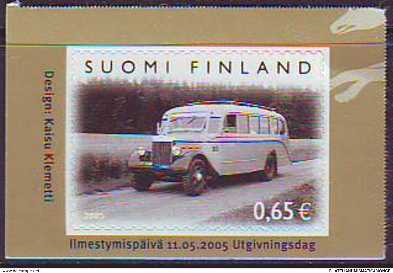 Finlandia 2005  Yvert Tellier  1713 100A  De Autobuses ** - Finland
