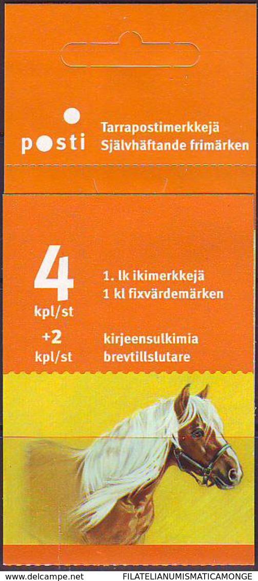 Finlandia 2005  Yvert Tellier  1717/20 Ponies (4s) ** - Unused Stamps