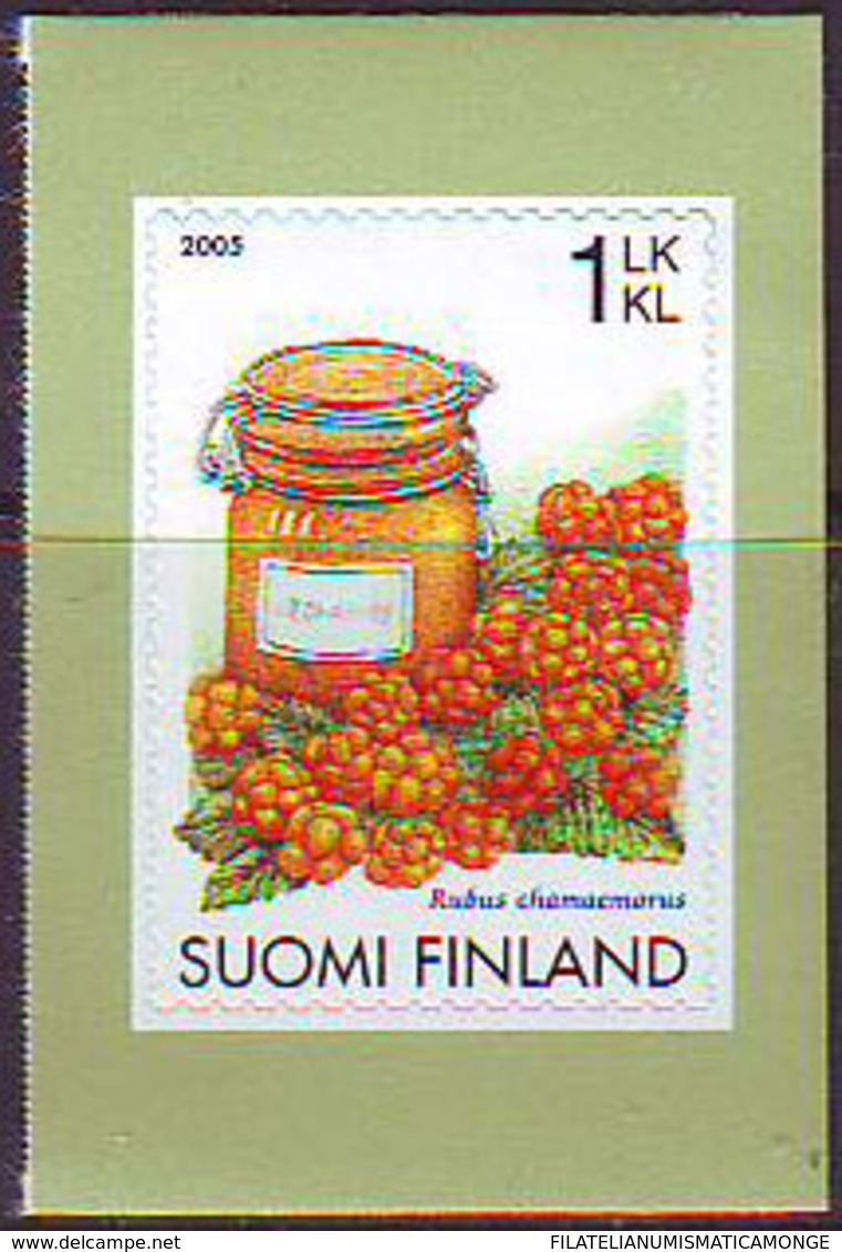 Finlandia 2005  Yvert Tellier  1725 Bayas. Autoadesivo ** - Finland