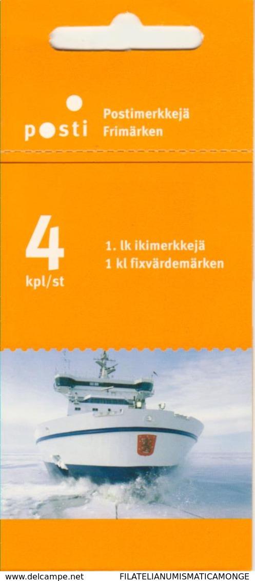 Finlandia 2005  Yvert Tellier  1730.C Barcos Rompe Hielo.crn ** - Finland