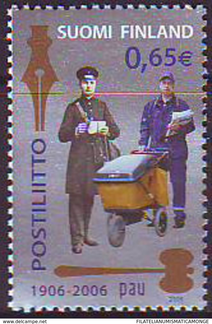 Finlandia 2006  Yvert Tellier  1746 PAU (union De Trabajadores De Correos) ** - Finland