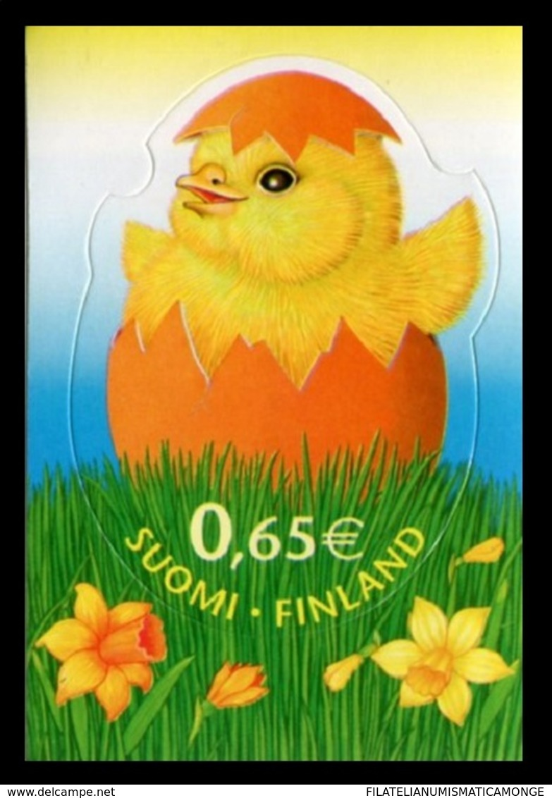 Finlandia 2006  Yvert Tellier  1761 Pollito (1s) ** - Unused Stamps