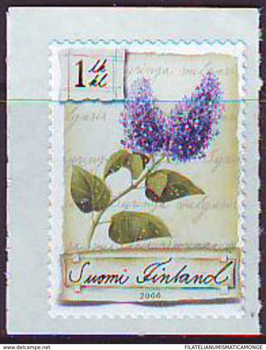Finlandia 2006  Yvert Tellier  1760 Flores Lilas ** - Ongebruikt