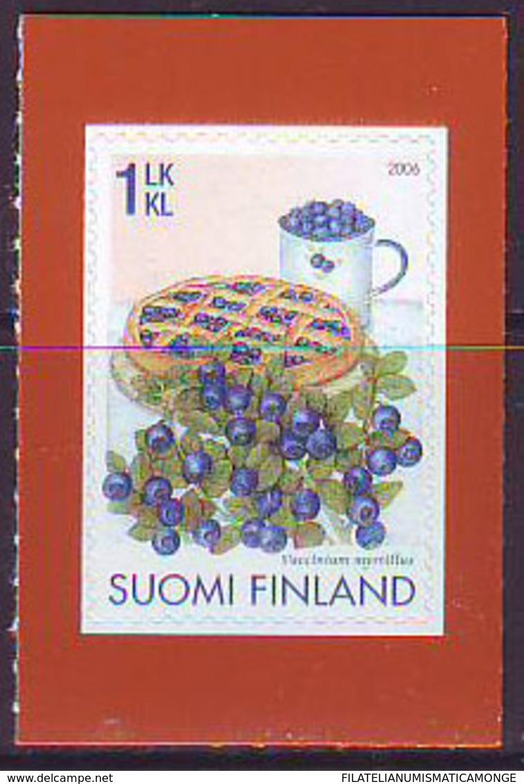 Finlandia 2006  Yvert Tellier  1780 Bayas/Frutos Bosque ** - Finland