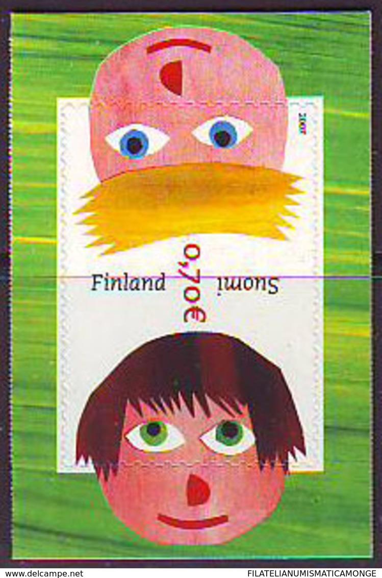 Finlandia 2007  Yvert Tellier  1793 S.Valentin/Adh. ** - Unused Stamps
