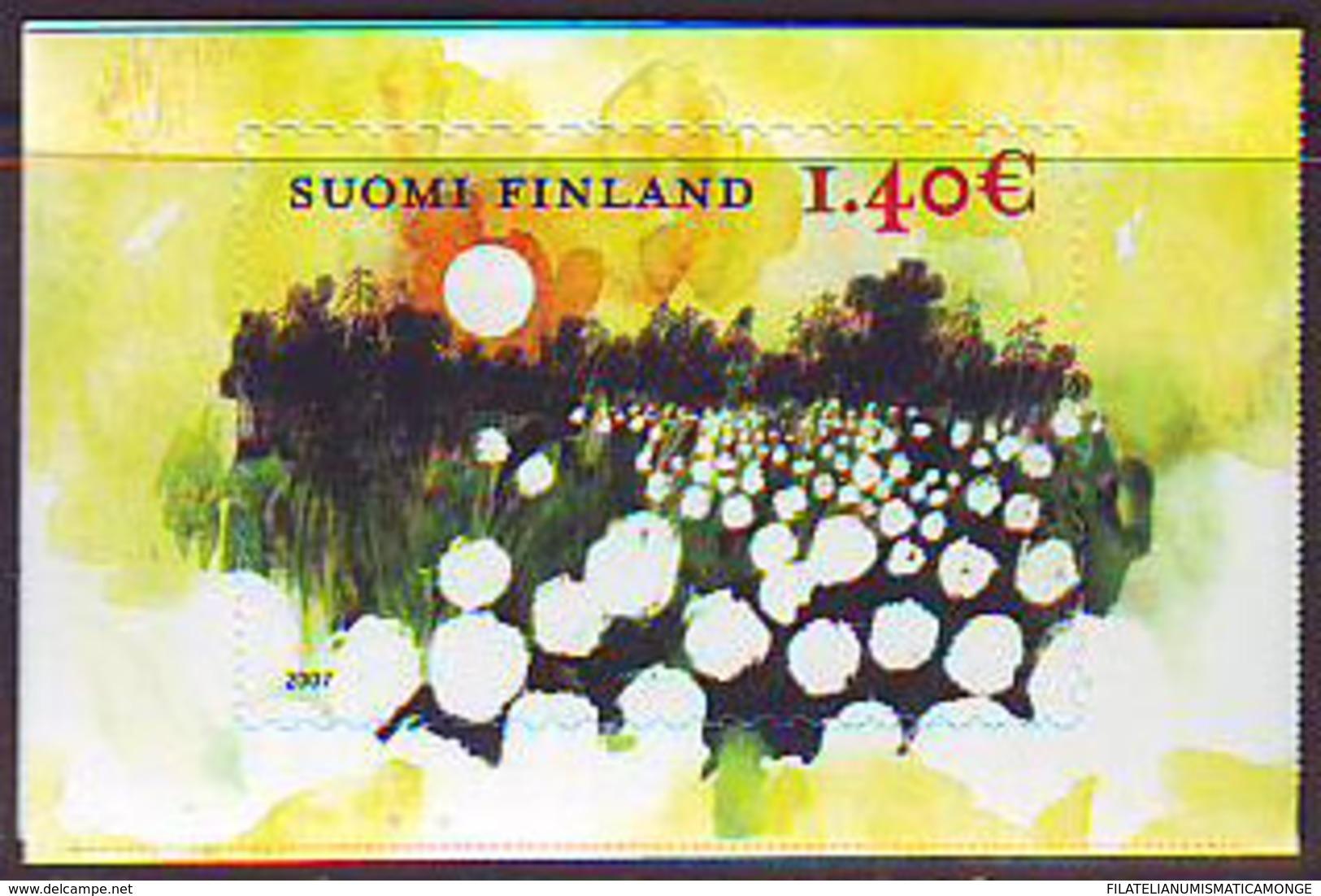 Finlandia 2007  Yvert Tellier  1801 Puesta De Sol/S.Básica ** - Finland