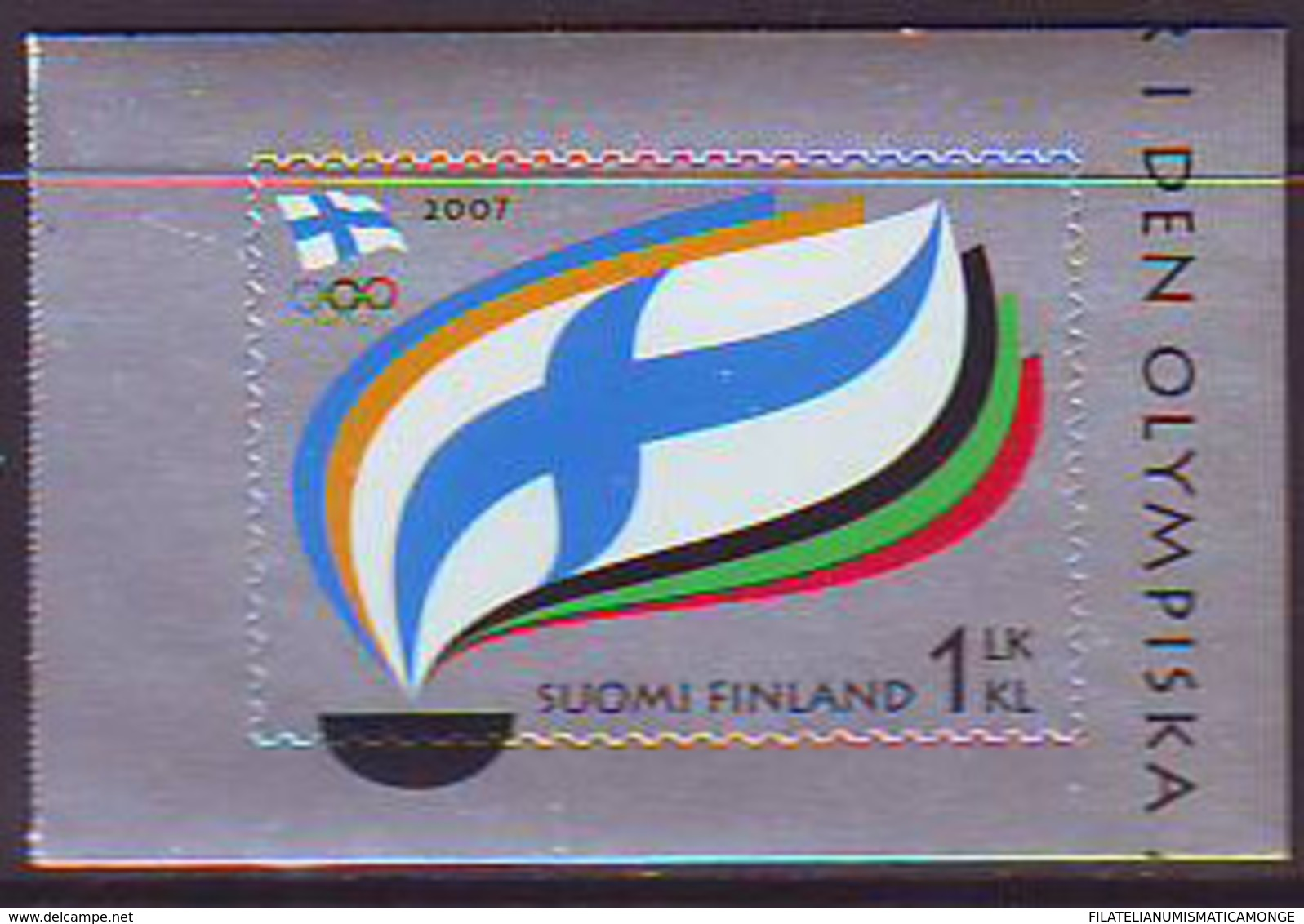 Finlandia 2007  Yvert Tellier  1832 Cent.Comite Olimp.filandes ** - Finland