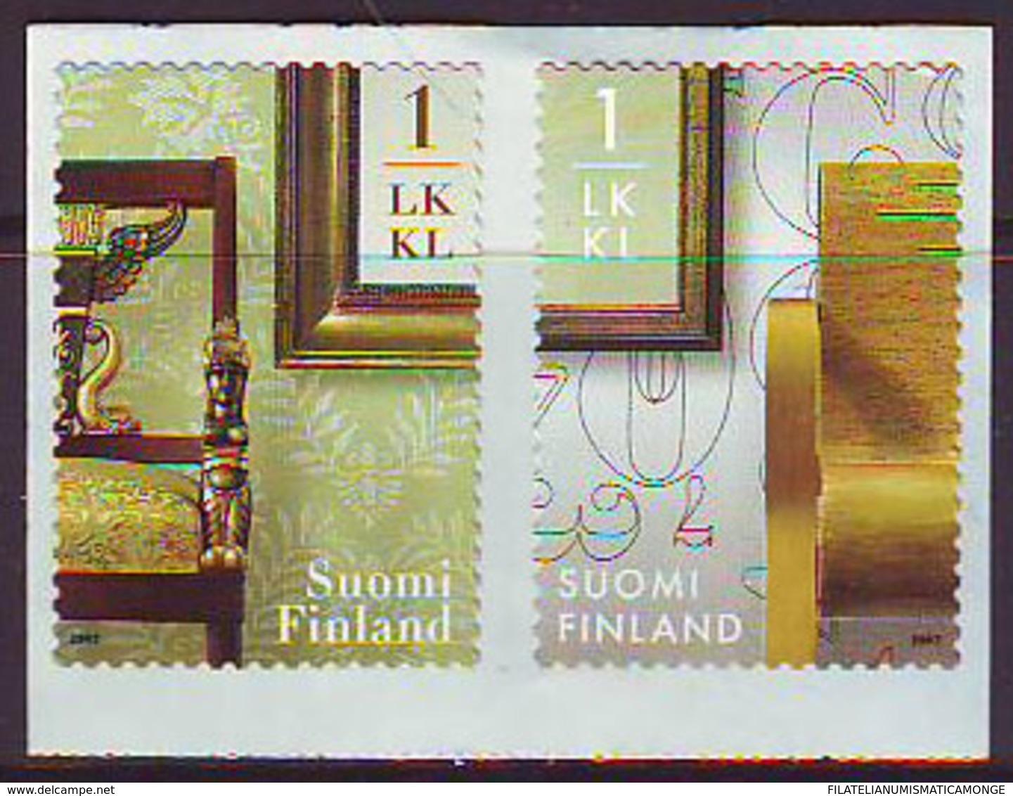Finlandia 2007  Yvert Tellier  1830/31 Antiguedades/adh. ** - Finland