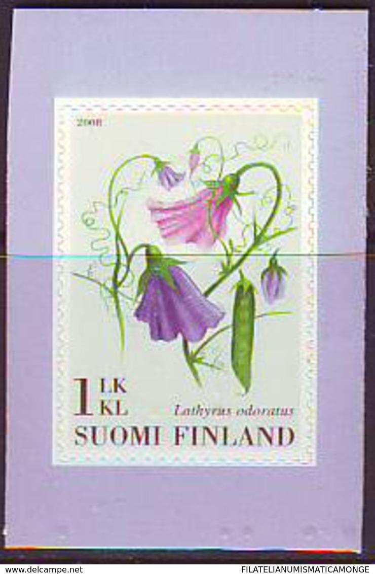Finlandia 2008  Yvert Tellier  1870 Flor/Guisante ** - Ongebruikt