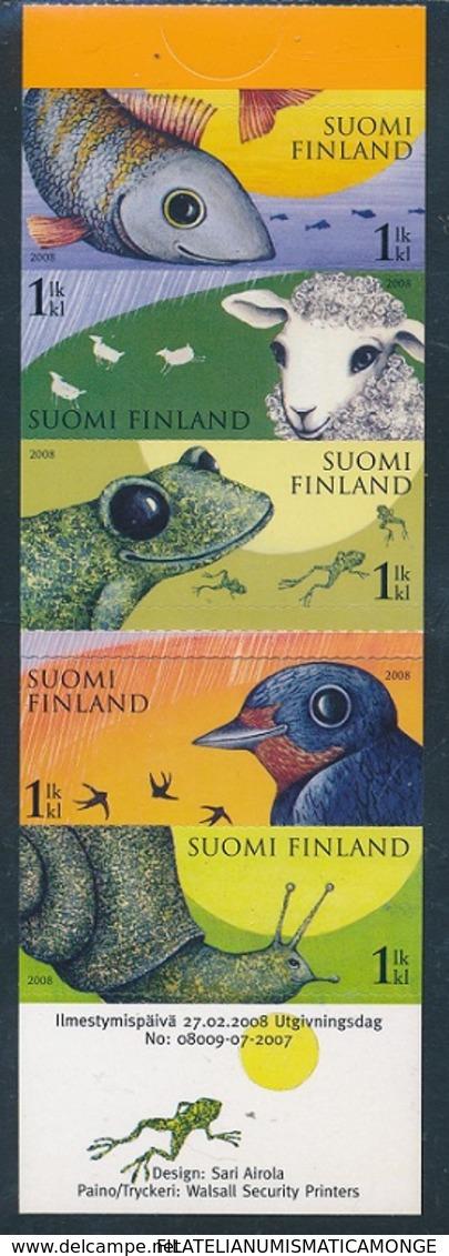 Finlandia 2008  Yvert Tellier  1865/69 C. Previsiones Metereologicas ** - Unused Stamps