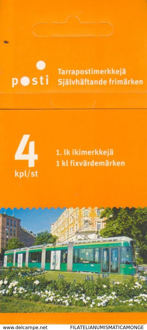 Finlandia 2007  Yvert Tellier  1816 C. Transporte Público/ Carnet ** - Finland