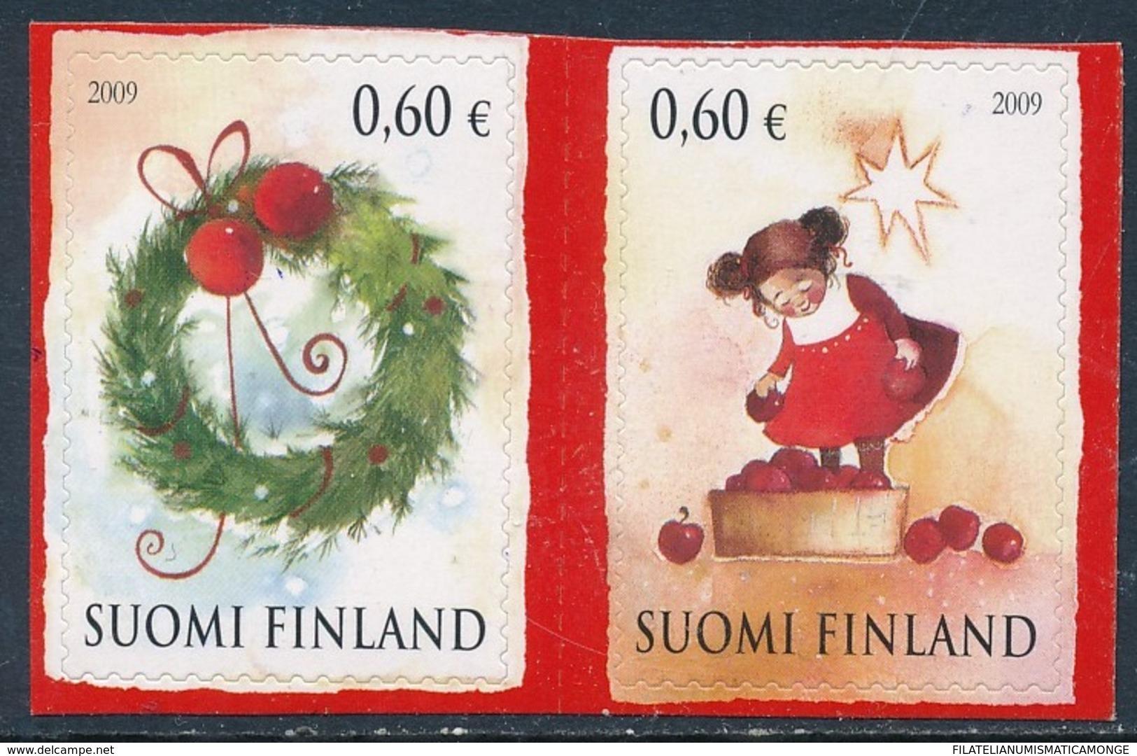 Finlandia 2009  Yvert Tellier  1962/63 Navidad'09 (2s)  ** - Finlandia