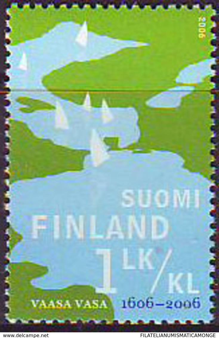 Finlandia 2006  Yvert Tellier  1772 400A De La Ciudad De Vaasa ** - Unused Stamps