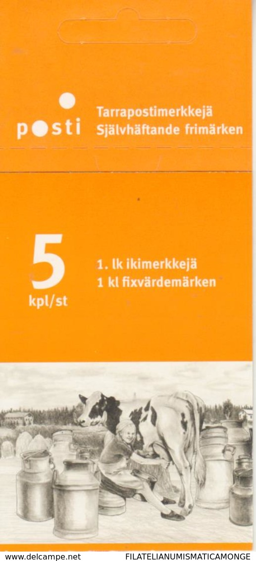 Finlandia 2010  Yvert Tellier  1980 C. Vida En La Granja-carnet ** - Ongebruikt