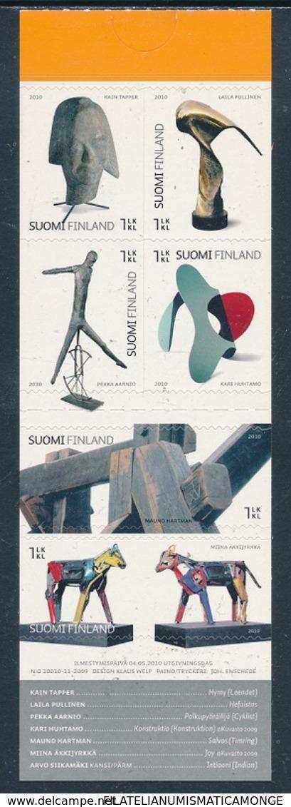 Finlandia 2010  Yvert Tellier  2011 C. Arte Finl. (III)  Carnet ** - Finland