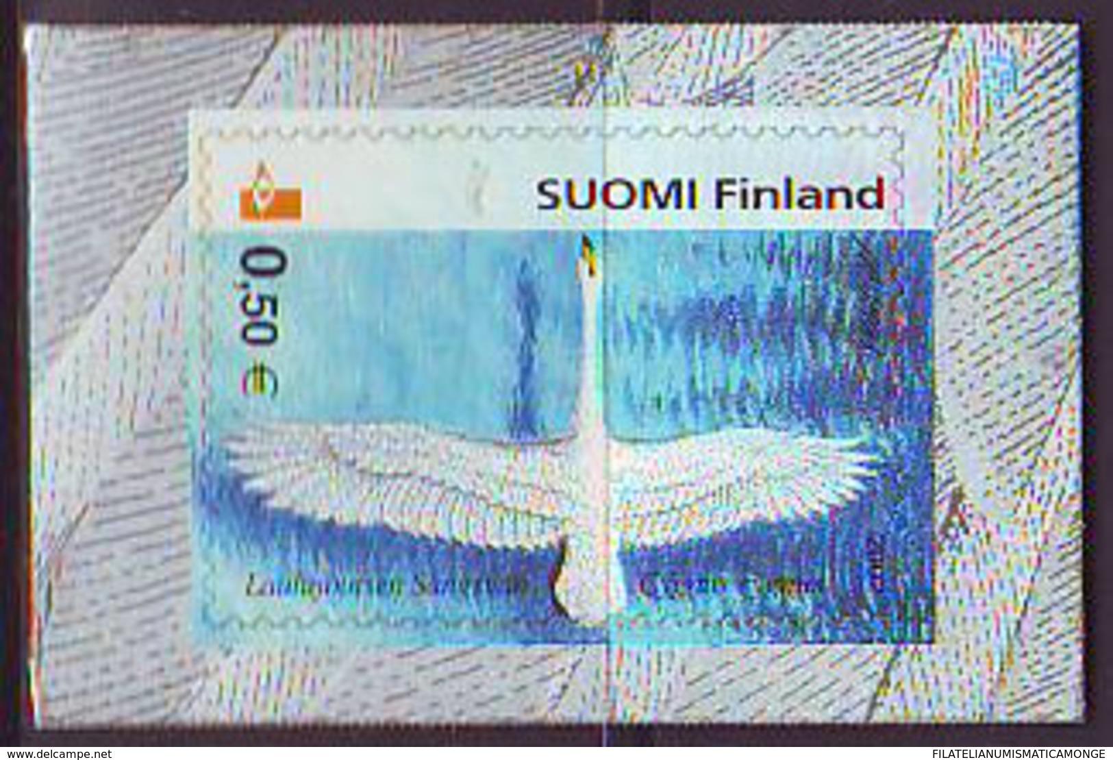 Finlandia 2002  Yvert Tellier  1559 Aves ** - Finland