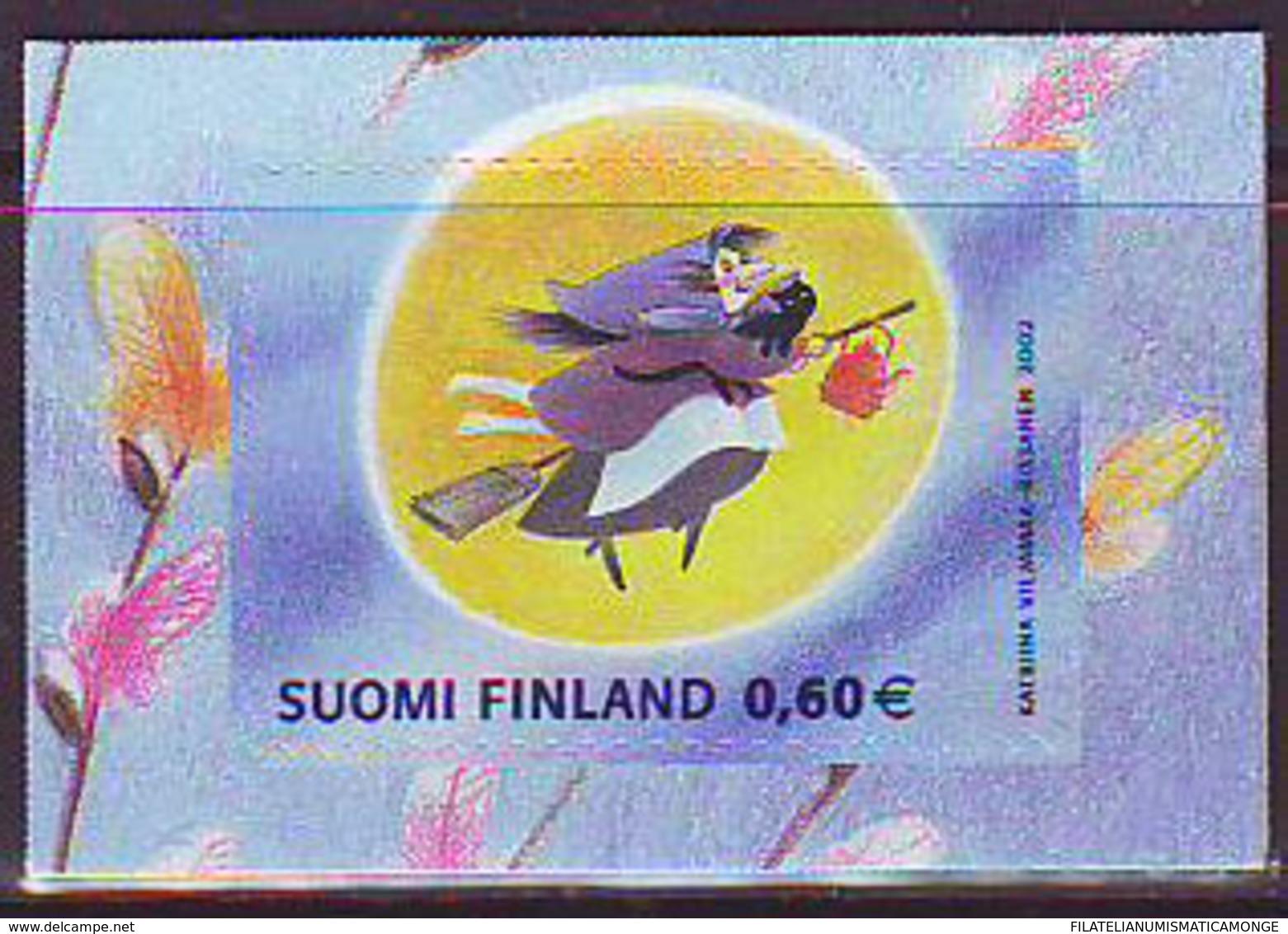 Finlandia 2002  Yvert Tellier  1575 Brujas  ** - Finland