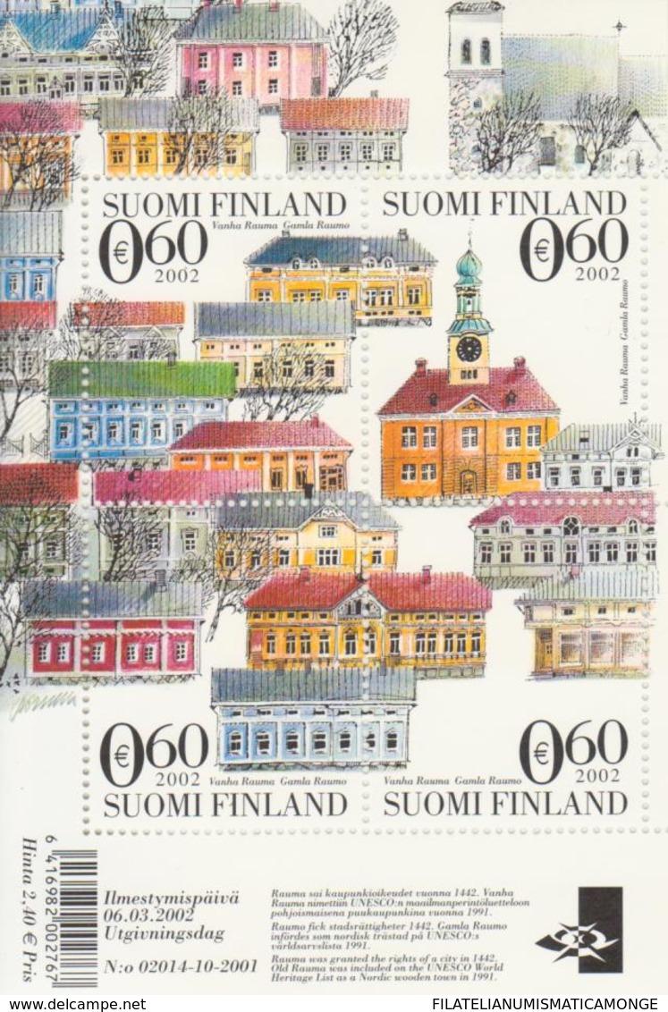 Finlandia 2002  Yvert Tellier  1580/83 Hb 29 ** - Unused Stamps