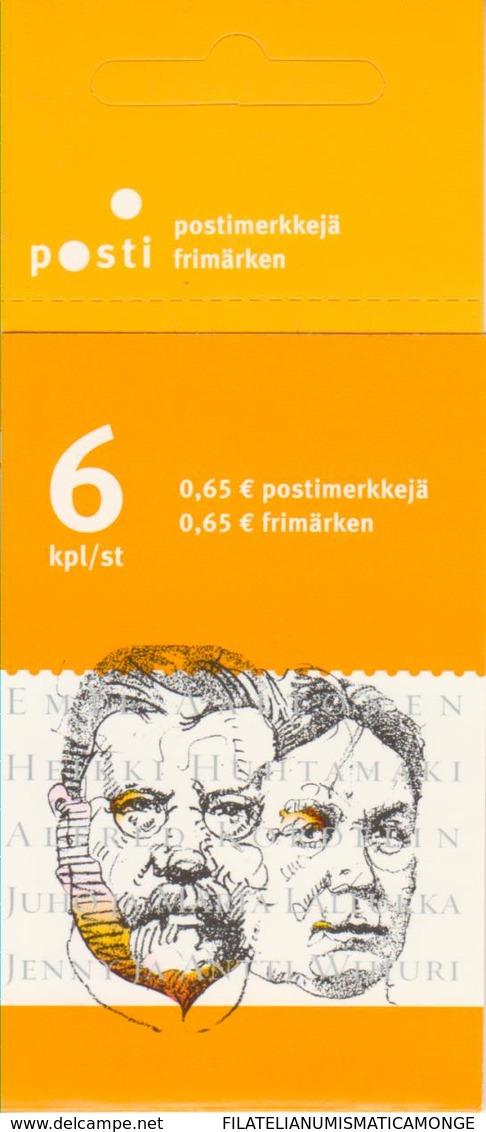 Finlandia 2003  Yvert Tellier  1631.C Personajes ** - Finland