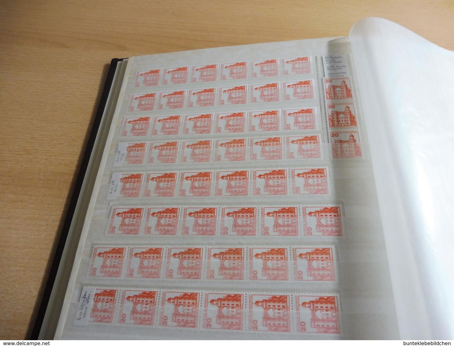 HUNDERTE !!!  Rollenmarken; Zig Tausende DM  ................. Mit 70 Fotos Alles Bebildert! - Collections (en Albums)