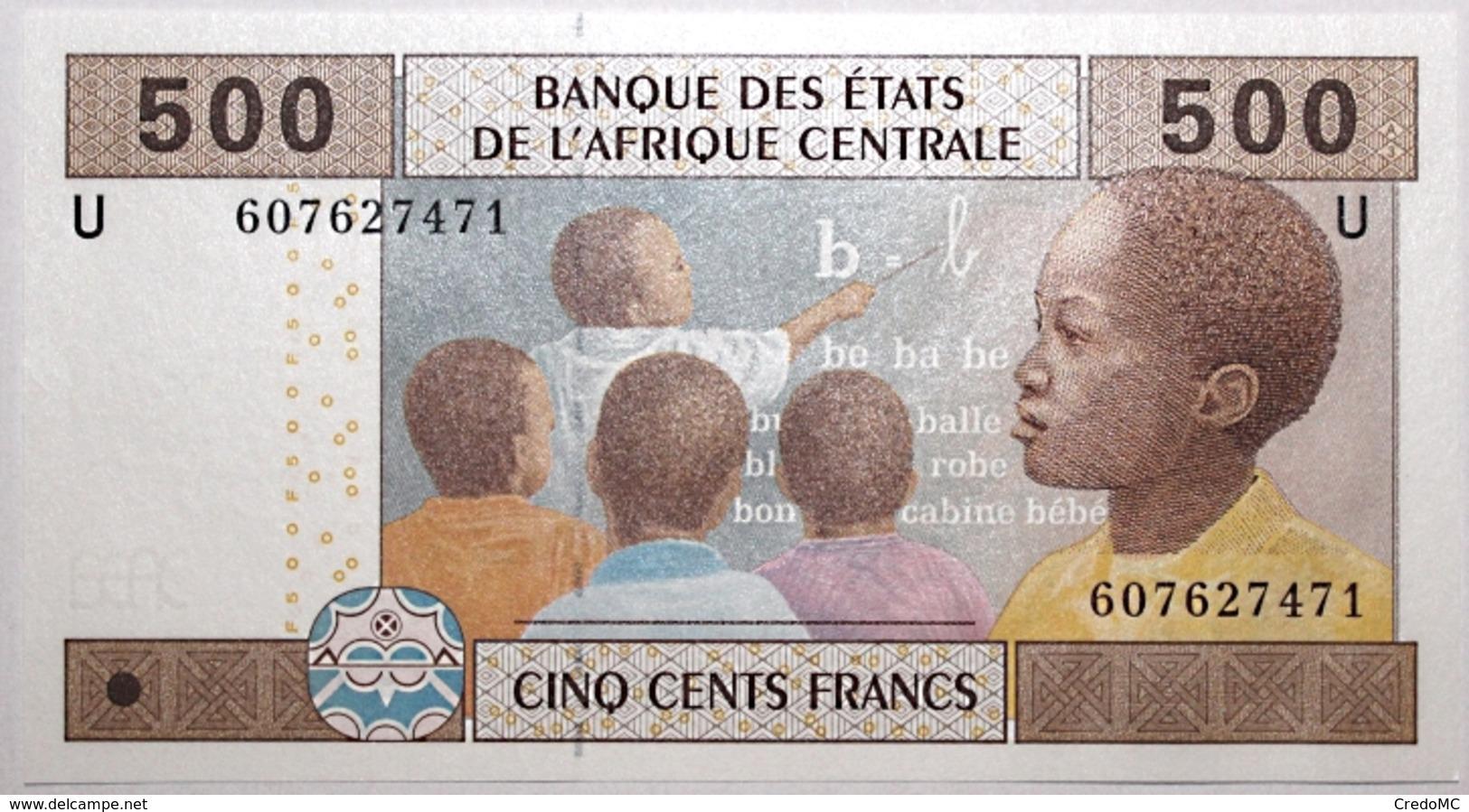 Cameroun - 500 Francs - 2002 - PICK 206Ua.4 - NEUF - West African States