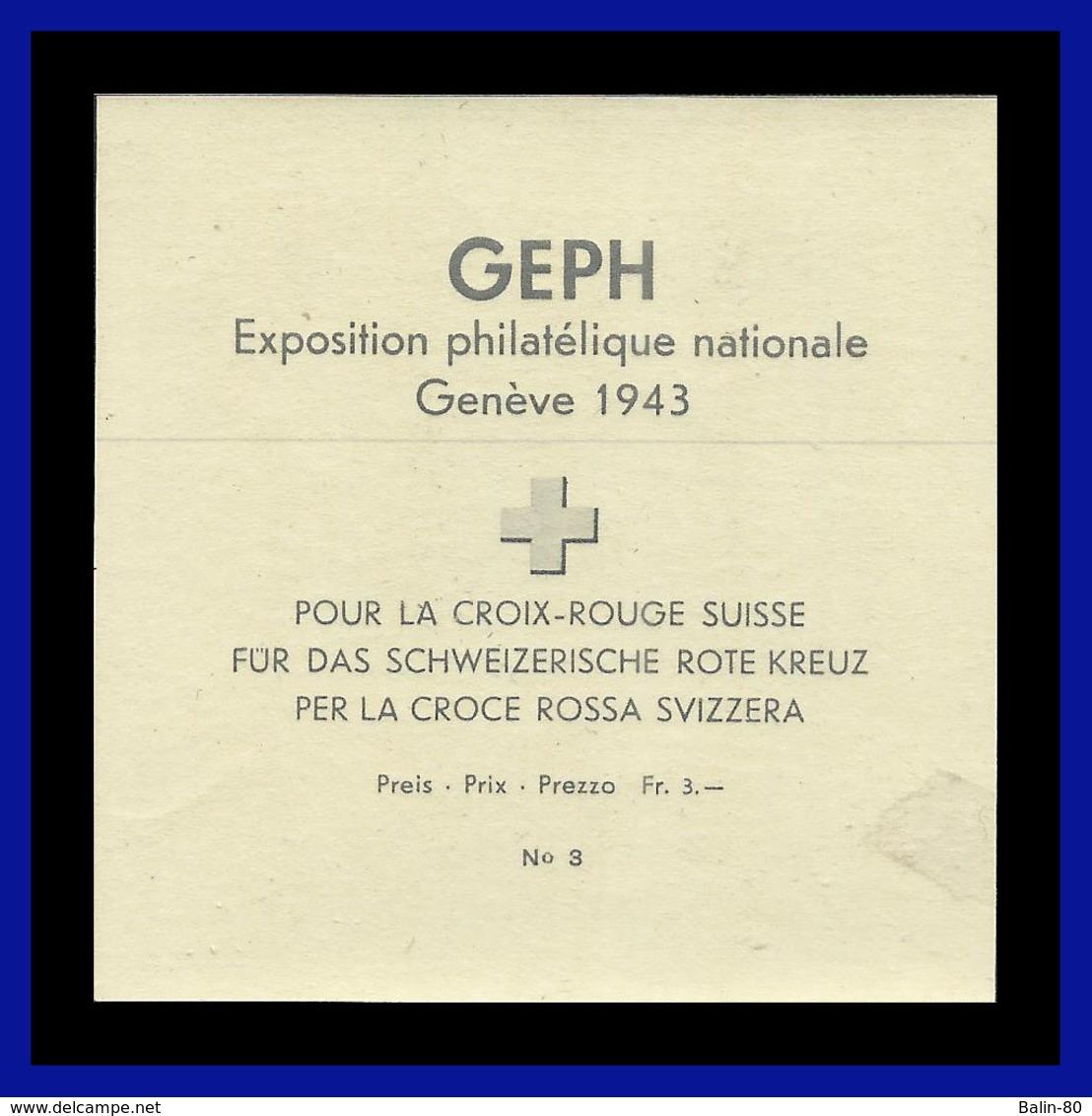 1943 - Suiza - Scott Nº B 132a - N / D - MNH - SU- 317 - 02 - Unused Stamps