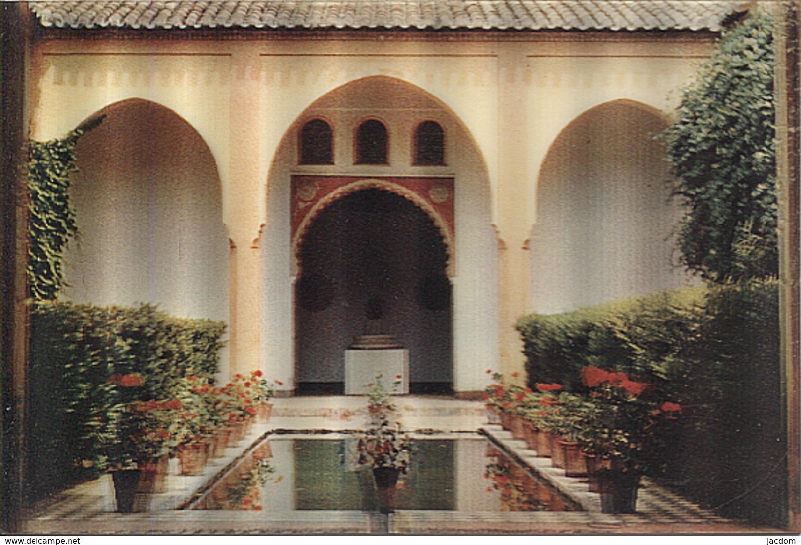 X122752 ANDALUCIA MALAGA PATIO ANDALUZ STEREORAMA 3 - D - Málaga