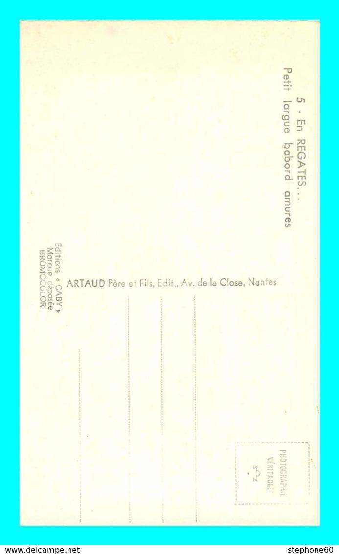 A724 / 619 Voilier En Régates ( Bateau ) - Voiliers