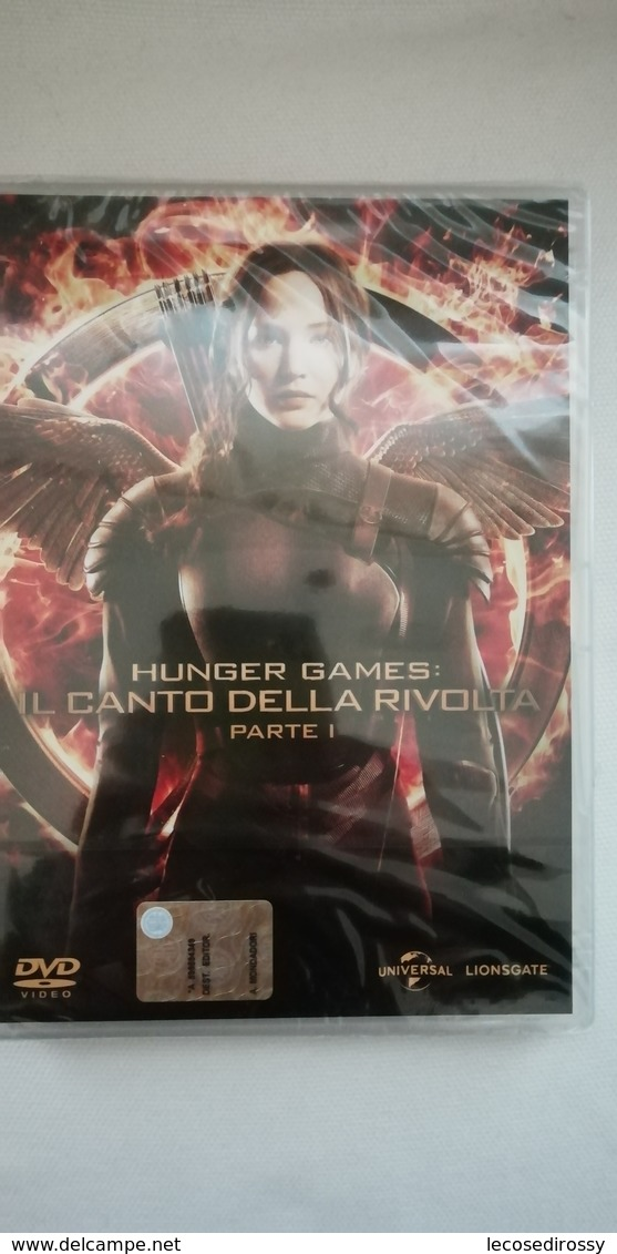 Rox  DVD - Hunger Games - Trilogia Completa In 4 DVD -  Nuovi Sigillati - Sci-Fi, Fantasy