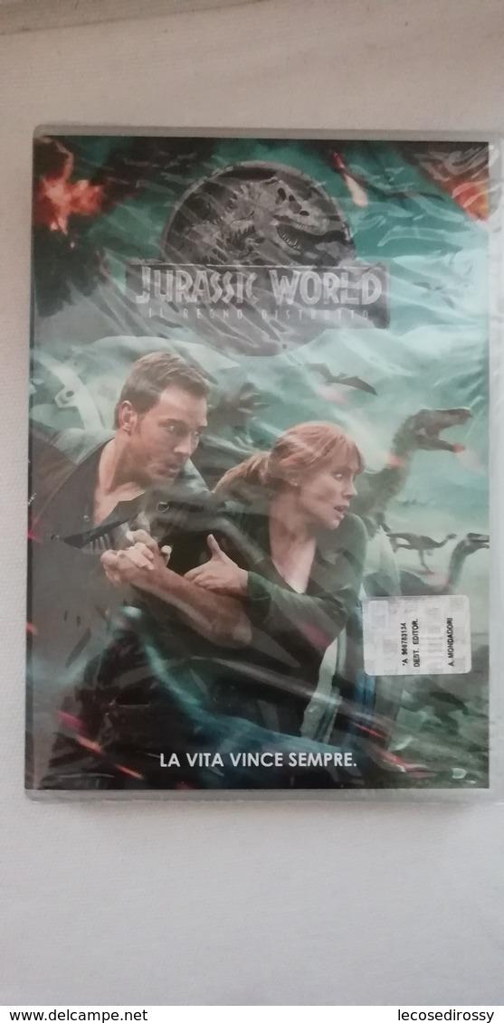 Rox  DVD - Jurassic World - Il Regno Distrutto -  Nuovo Sigillato - Sci-Fi, Fantasy