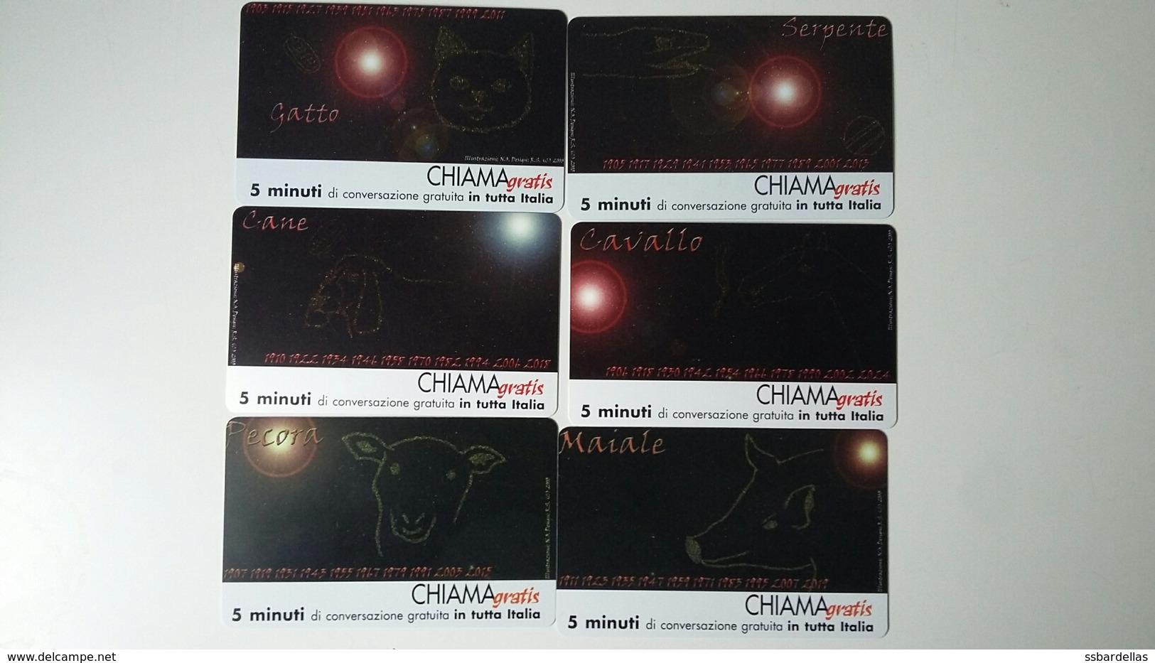 CHIAMAGRATIS - SEGNI ZODIACALI - SERIE B - NUOVA (MINT) (DT) - Italië