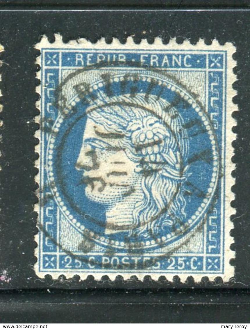 Superbe N° 60 Cachet Ambulant PERIGUEUX A PARIS - 1871-1875 Cérès
