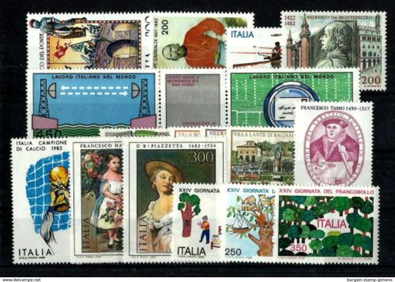 Italia Lote De 21 Series En Nuevo. Cat.41,85€ - Italy