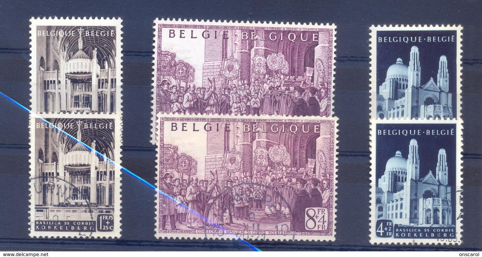 Nrs. 876/878 Gestempeld +  Postgaaf ** MNH Zeer Mooi - Belgio