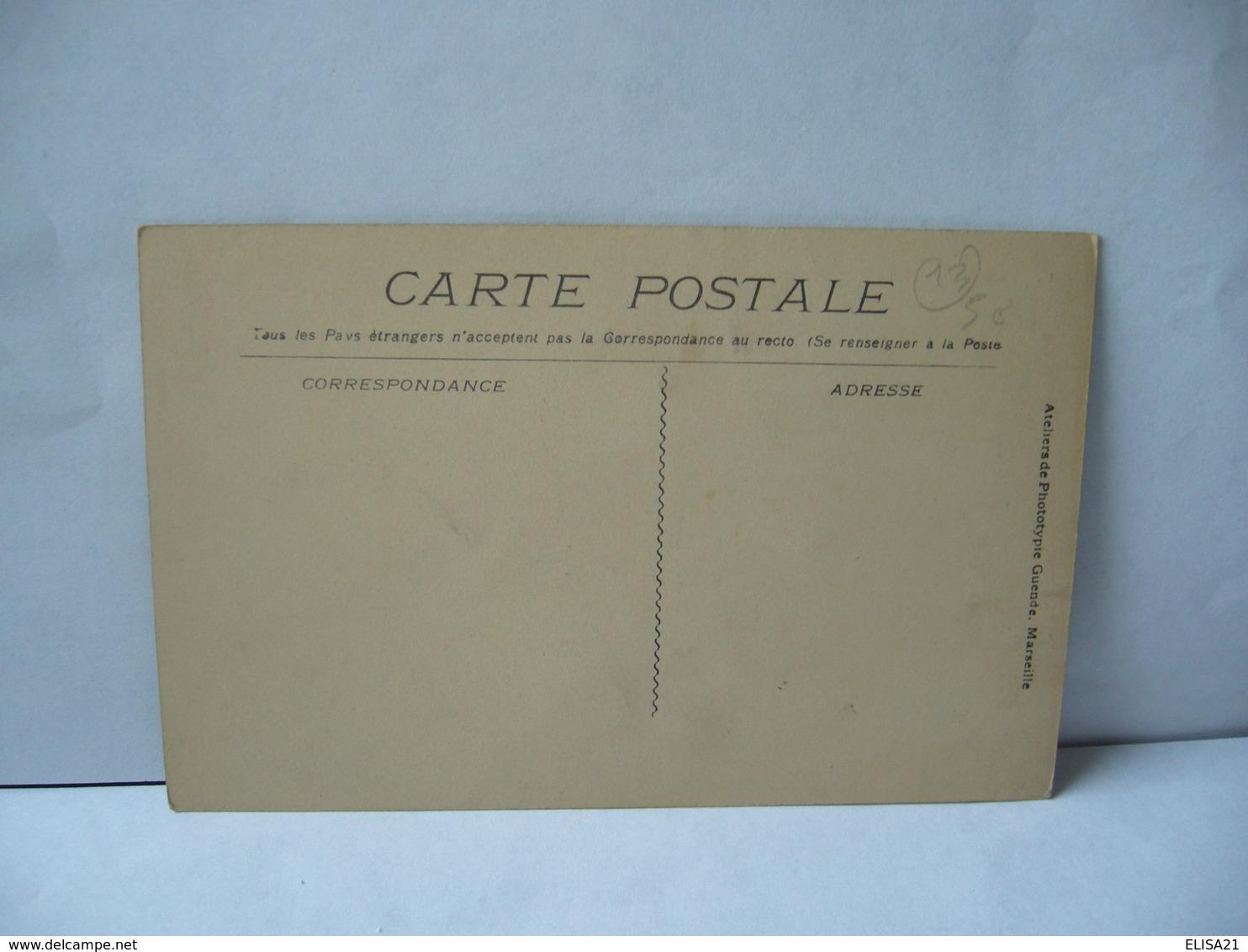 815. LA CIOTAT 13 BOUCHES DU RHONE QUAI LOUIS BENET CPA Atelier De Phototypie Guende Marseille - La Ciotat