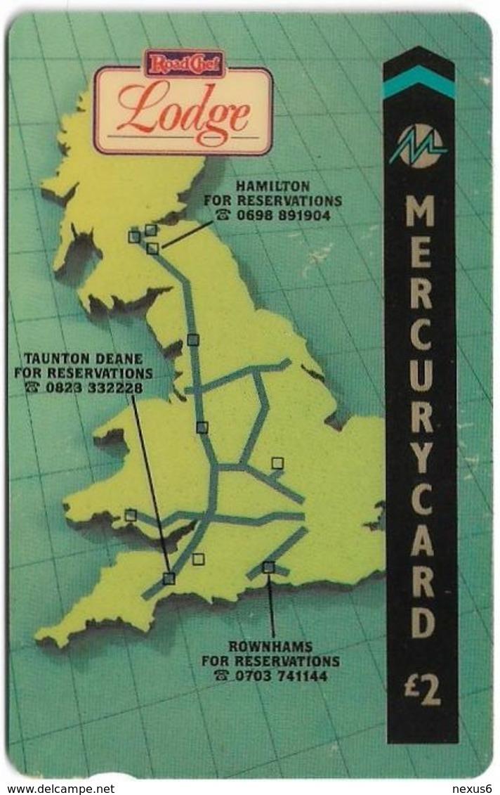 UK (Mercury) - Road Chef, Lodge - 20MERC - MER150, 2£, 23.803ex, Used - Reino Unido