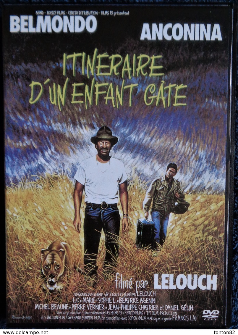 Itinéraire D'un Enfant Gâté - Film De Lelouch - Belmondo / Anconina . - Komedie