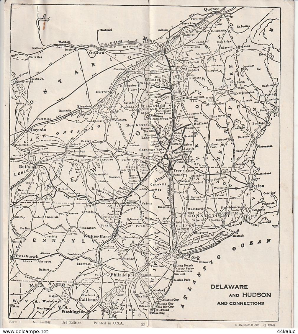 HORAIRE DE TRAINS Entre NEW YORK Et MONTREAL - World