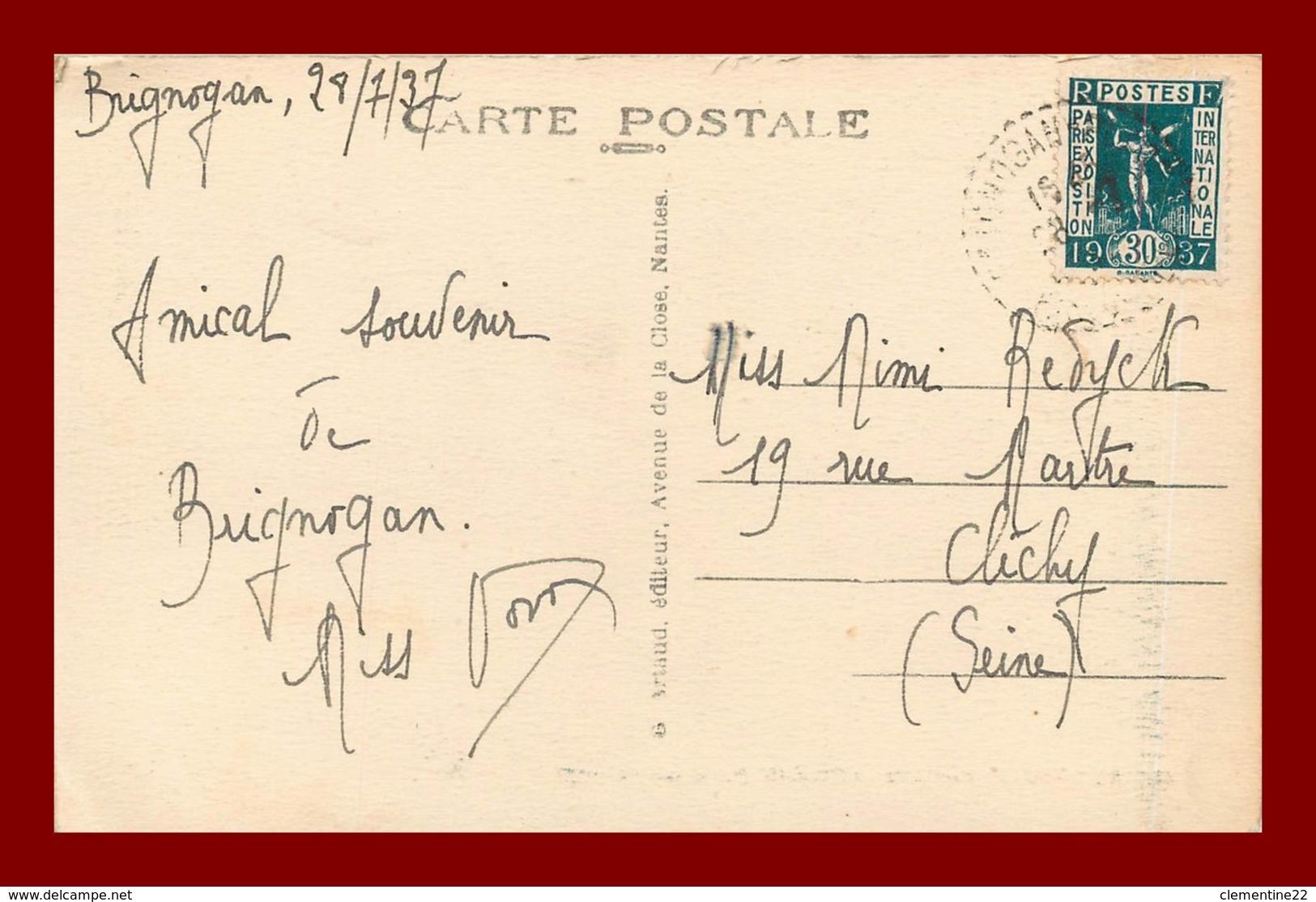 Brignogan * Chapelle Paul   ( Scan Recto Et Verso ) - Brignogan-Plage