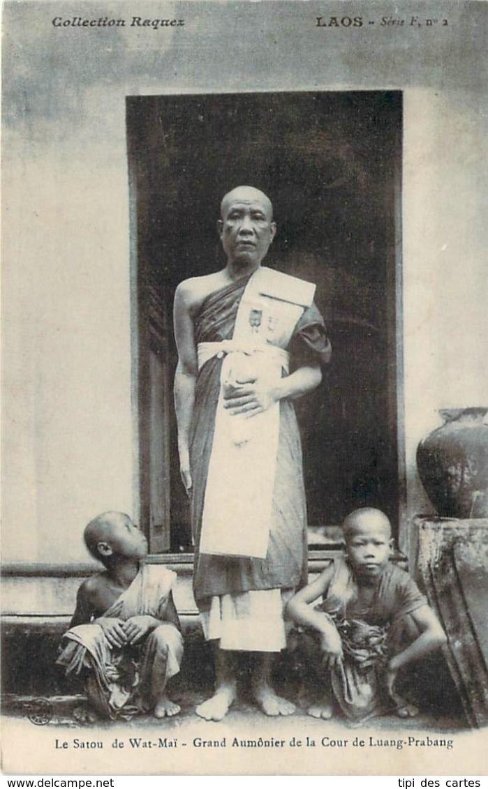 Laos - Le Satou De Wat-Maï, Grand Aumônier De La Cour De Luang-Prabang - Laos