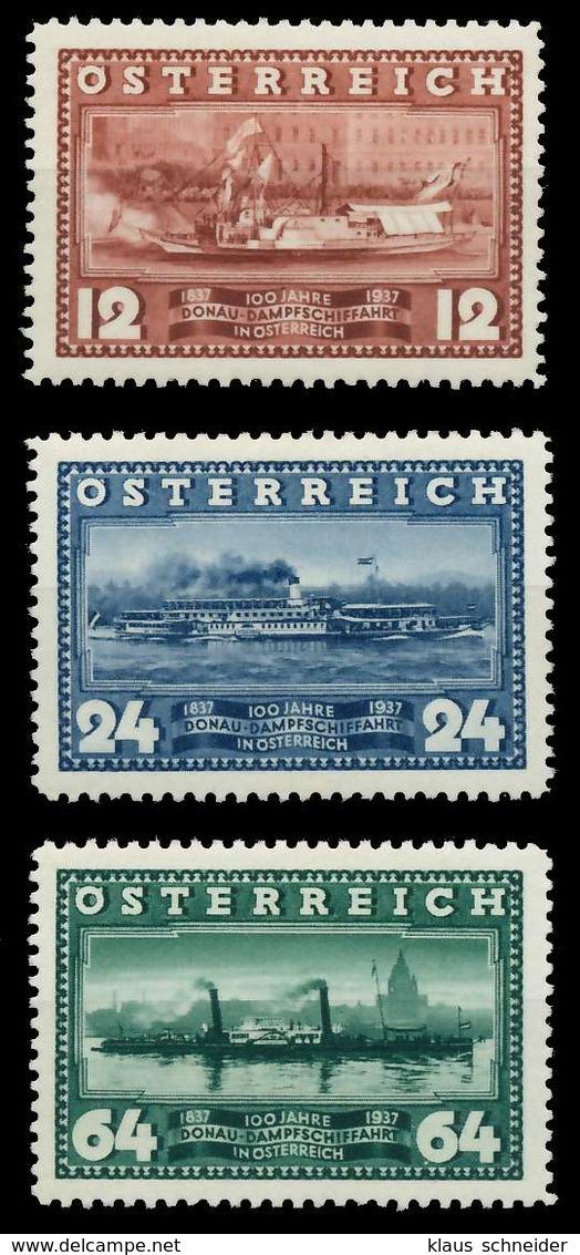 ÖSTERREICH 1937 Nr 639-641 Ungebraucht X89C7F6 - 1918-1945 1. Republik