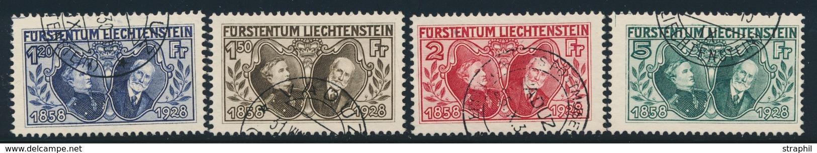 O LIECHTENSTEIN - O - N°86/89 - TB - Unused Stamps