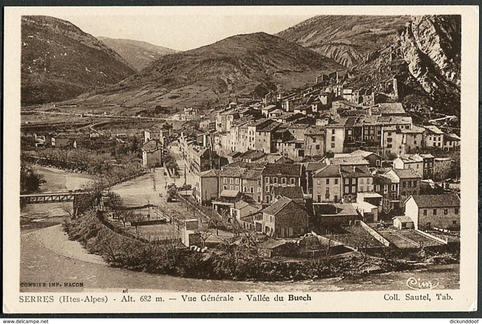 CP 05 Serres - Vue Générale, Vallée Du Buech - Autres Communes
