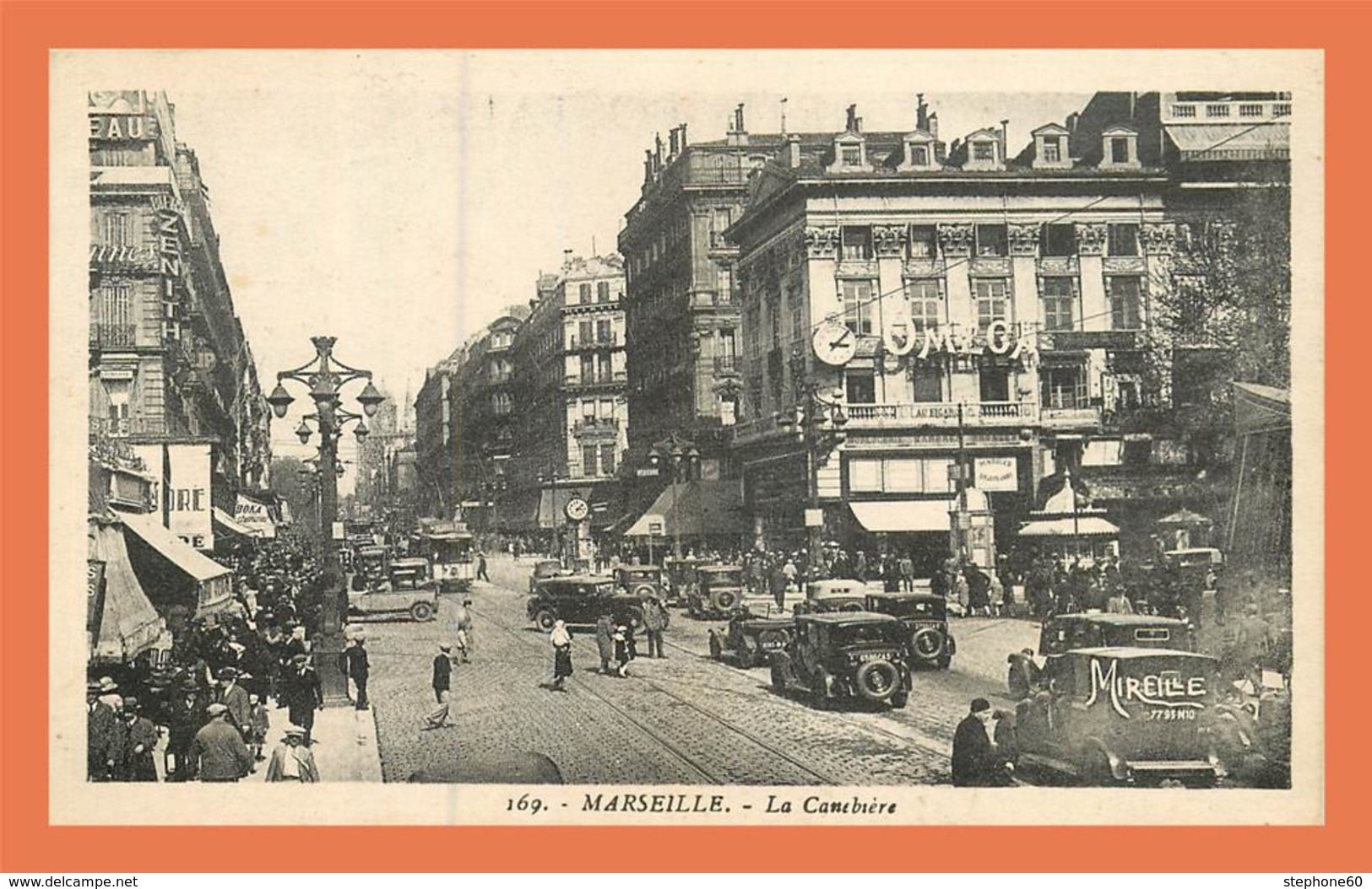 A710 / 123 13 - MARSEILLE Cannebiere ( Voiture ) - Marseilles
