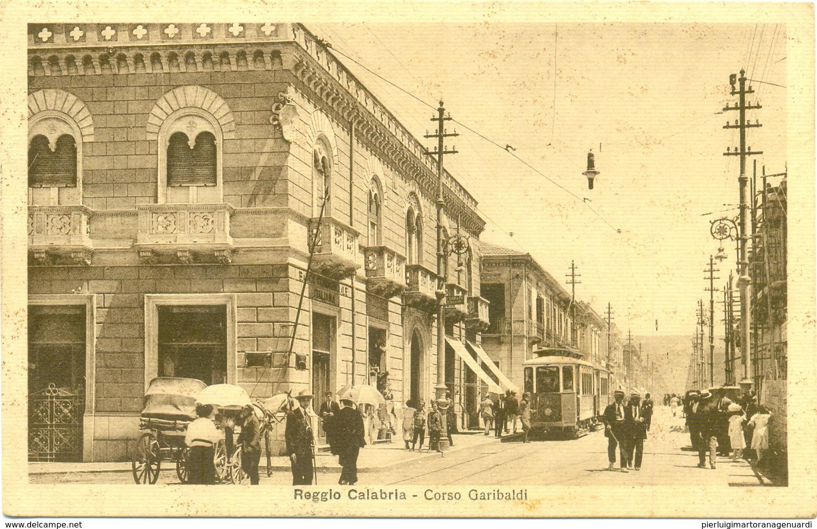17820 - Reggio Calabria - Corso Garibaldi - Reggio Calabria