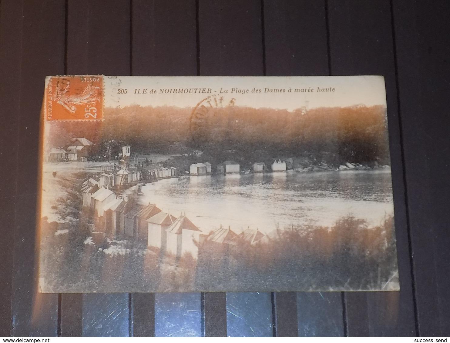 CPA ILE DE NOIRMOUTIER Vendée LA PLAGE DES DAMES - Noirmoutier
