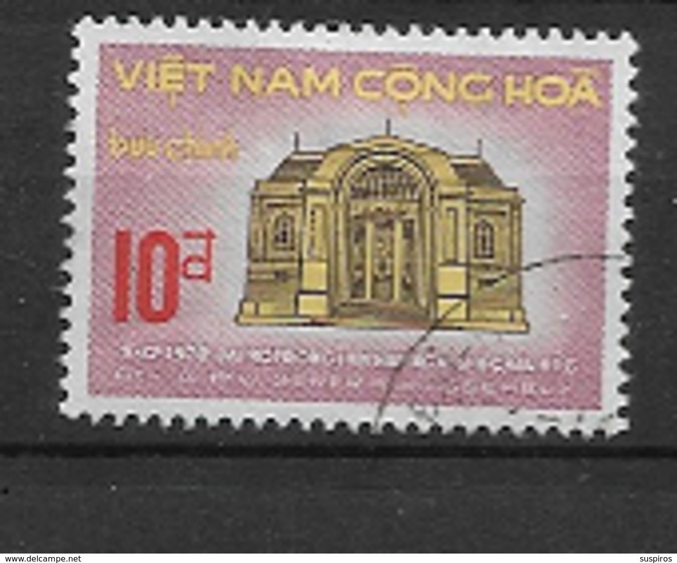 VIETNAM DEL SUD - 1970 Asian Parliamentarians' Union Or APU   USED - Vietnam