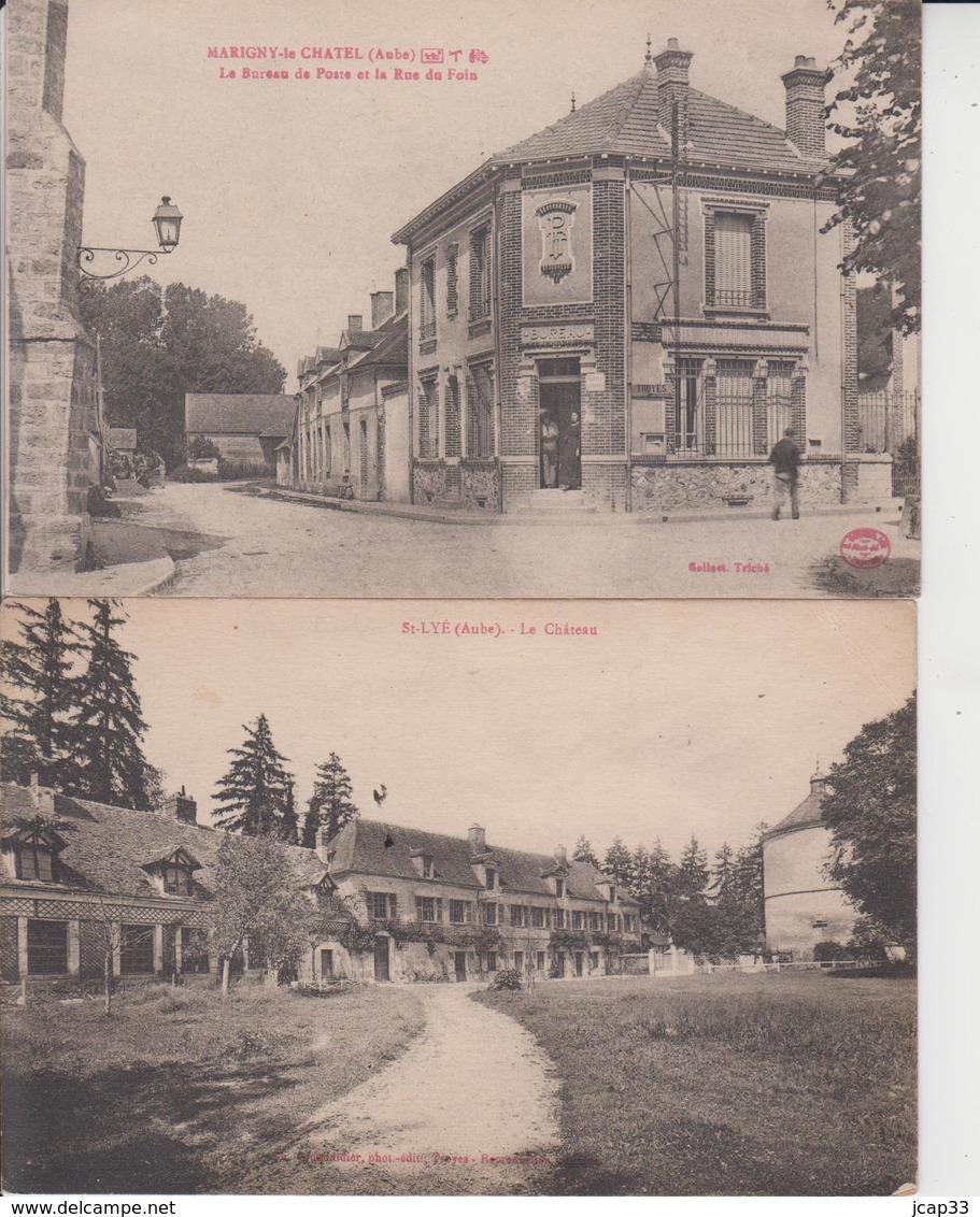 DEPT 10  -  LOT DE 15 CARTES  - - Postcards
