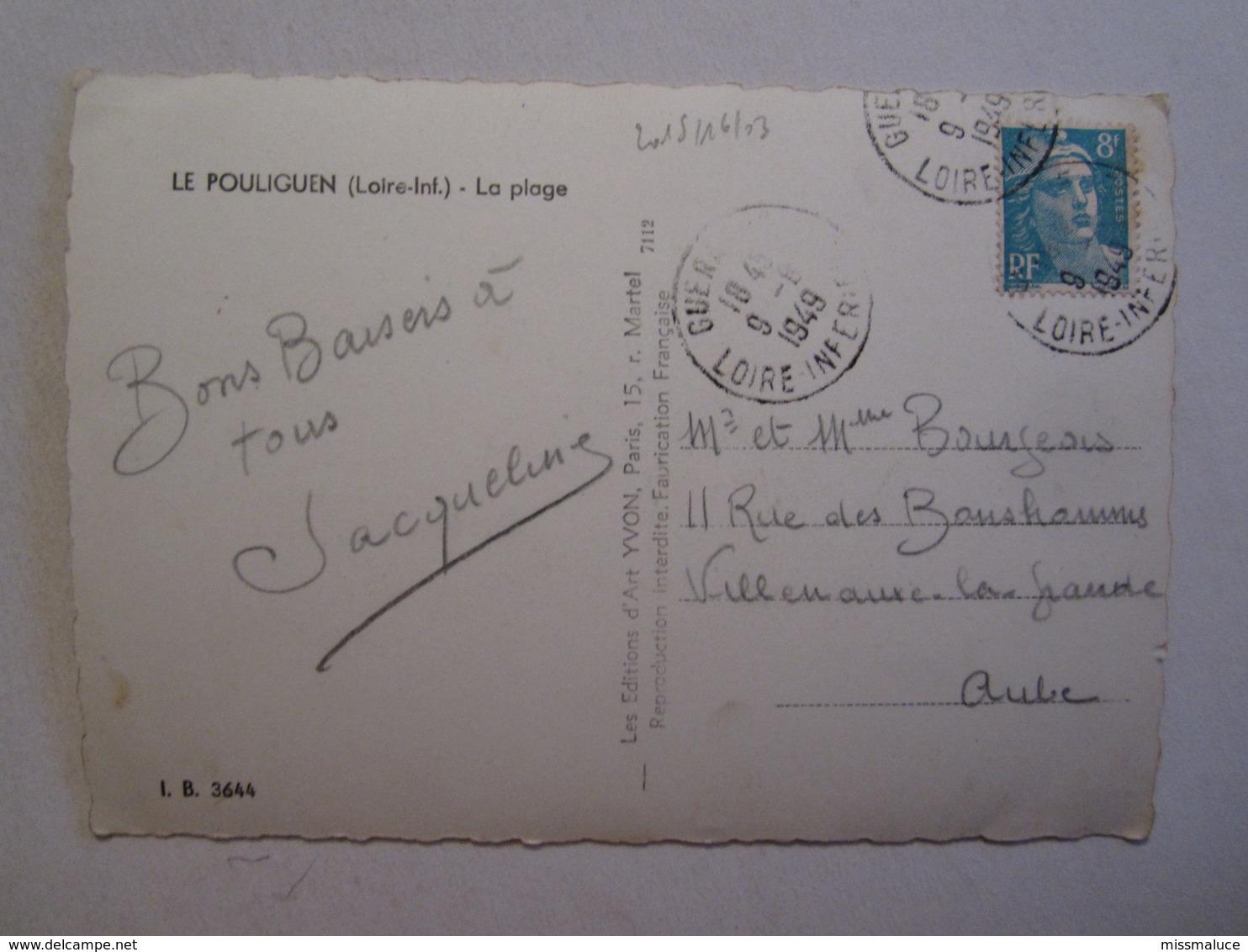 44 Loire Atlantique Le Pouliguen La Plage - Le Pouliguen