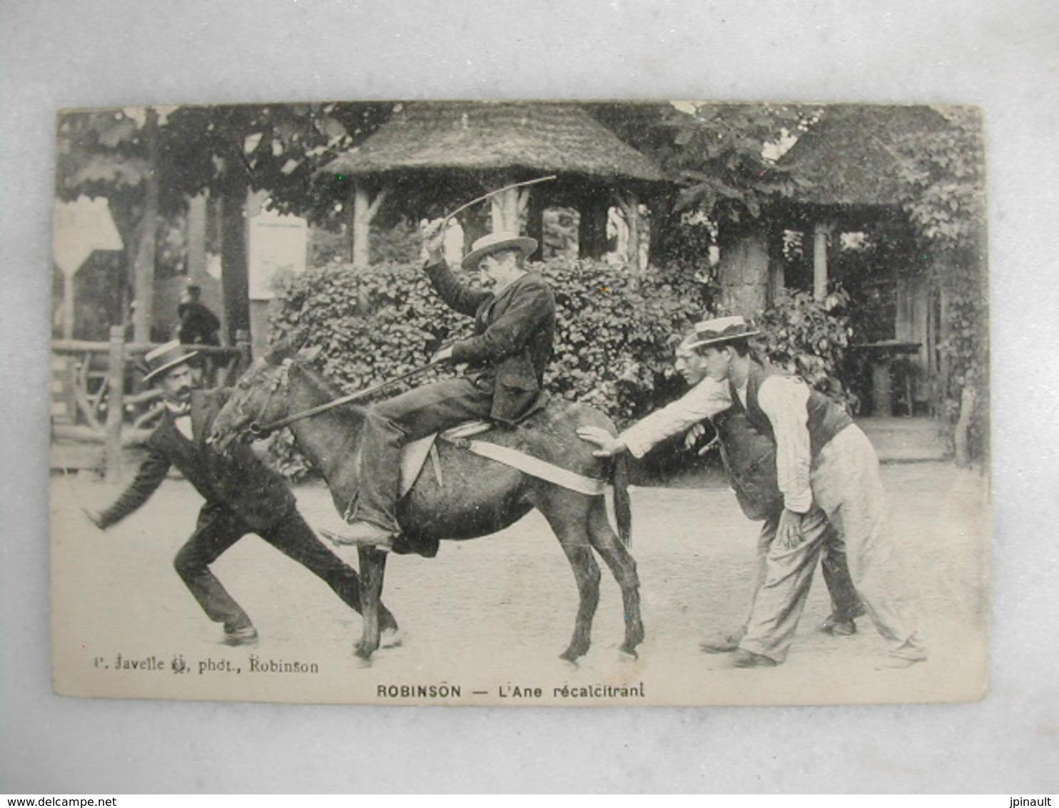 ROBINSON - L'âne Récalcitrant (animée Avec âne) - Humour